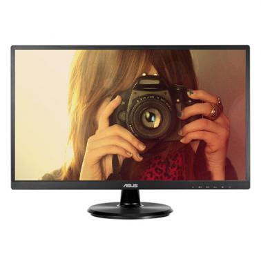 华硕(ASUS)VA249NA 23.8英寸 LED背光高清显示屏 电脑主机液晶显示器