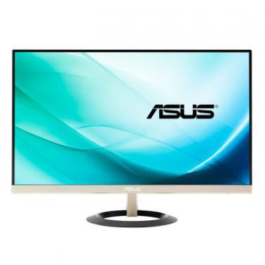 华硕(ASUS)VZ249H 23.8英寸锐翼系列淡香槟金 7mm轻薄窄边框HDMI立体声滤蓝光不闪屏IPS显示器