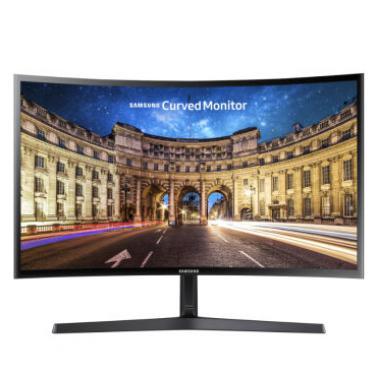 三星(SAMSUNG)C24F396FH 23.5英寸LED背光曲面显示器
