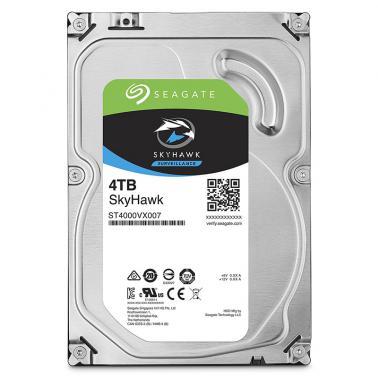 希捷(Seagate)酷鹰系列 4TB ST4000VX007 5900转64M SATA 6Gb/秒 监控级硬盘