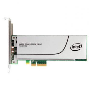 英特尔(Intel)SSD 750系列 1.2TB PCI-E 简包 插卡式 固态硬盘