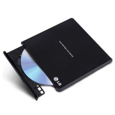 LG GP65NB60 USB2.0接口8倍速外置DVD刻录机 黑色