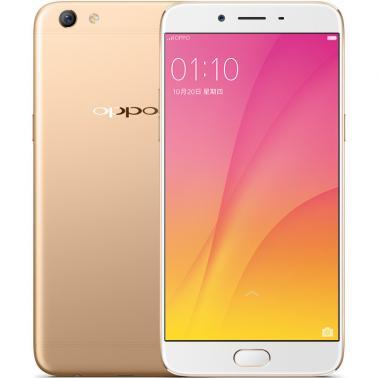 OPPO R9s Plus智能手机 全网通4G 八核 ROM/64GB RAM/6GB 前1600万像素 后1600万像素 6.0英寸 双卡双待 金色 4000mA/h