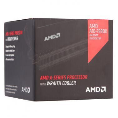 AMD APU系列四核 A10-7890K(Socket FM2/4.3GHz/4M缓存/95W)盒装CPU