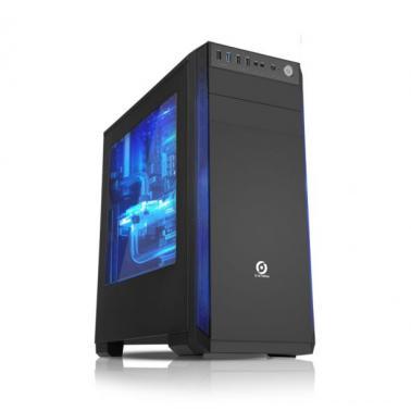游戏风暴 温斯顿 游戏机箱 黑色(USB 3.0/支持双SSD/全透侧板/背走线)