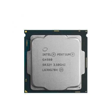 英特尔(Intel)G4560 奔腾双核 14纳米(LGA1151/3.5GHZ/3M/54W)散片CPU