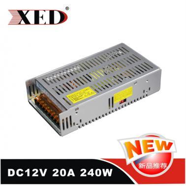 小耳朵 XED-20A12VWT 网状开关电源 12V20A 安防监控电源