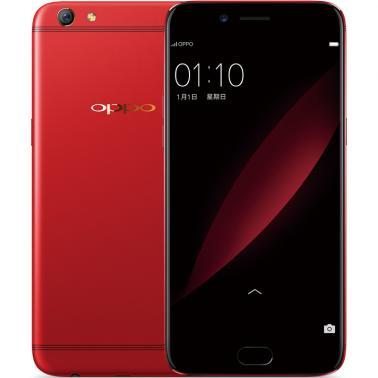 OPPO R9s智能手机 全网通4G 八核 ROM/64GB RAM/4GB 前1600万像素 后1600万像素 5.5英寸 双卡双待 新年红色 3050mA/h