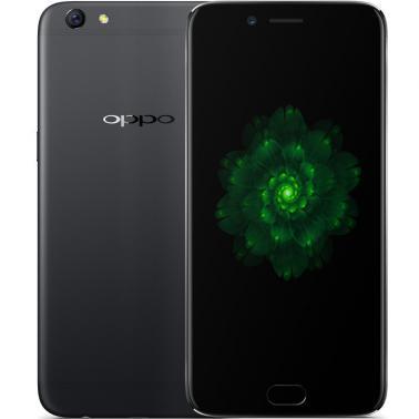 OPPO R9s智能手机 全网通4G 八核 ROM/64GB RAM/4GB 前1600万像素 后1600万像素 5.5英寸 双卡双待 黑色 3050mA/h
