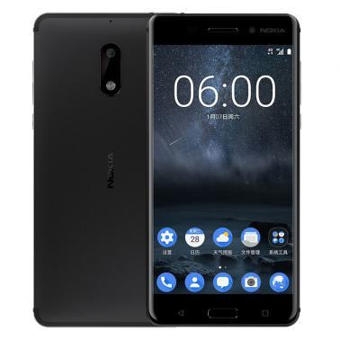诺基亚 Nokia6智能手机 全网通4G版 八核 ROM/64GB RAM/4GB 前800万像素 后1600万像素 5.5英寸 双卡双待 黑色 3000mA/h