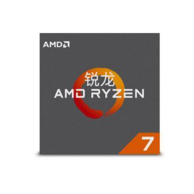 锐龙 AMD Ryzen系列八核 7-1700X(AM4/3.4GHz/20M缓存/95W)盒装CPU