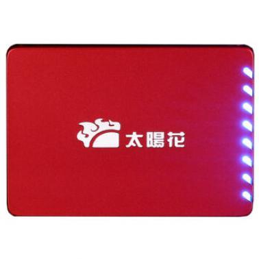 太阳花 DS500系列酷炫呼吸灯 128G 128M缓存2.5英寸 SSD固态硬盘