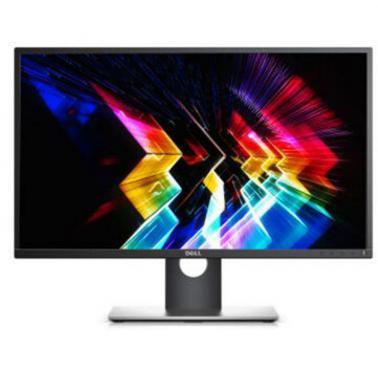 戴尔DELL P2717H 27英寸 旋转升降滤蓝光背光不闪IPS屏显示器