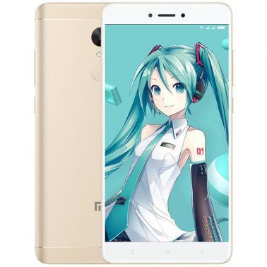 小米MI 红米Note4X 智能手机 全网通版4G 八核 ROM/32GB RAM/3GB 前500万像素 后1300万像素 5.5英寸 双卡双待 香槟金色 4100mA/h