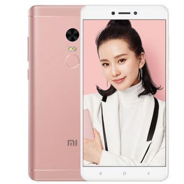 小米MI 红米Note4X 智能手机 全网通版4G 八核 ROM/32GB RAM/3GB 前500万像素 后1300万像素 5.5英寸 双卡双待 樱花粉色 4100mA/h