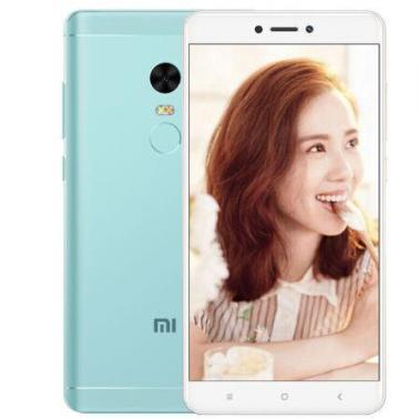 小米MI 红米Note4X 智能手机 全网通版4G 八核 ROM/32GB RAM/3GB 前500万像素 后1300万像素 5.5英寸 双卡双待 蓝绿色 4100mA/h