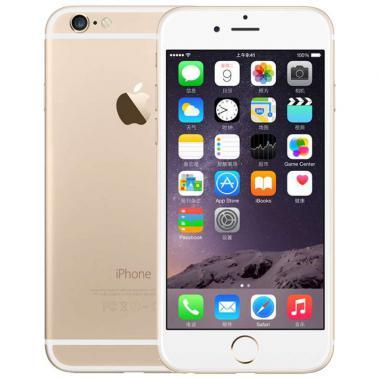 苹果iPhone 6 智能手机 公开版三网4G 苹果双核A8 1.4GHz处理器 ROM/32GB RAM/1GB 4.7英寸 前120万像素 后800万像素 金色 1810mA/h MQ3E2CH/A