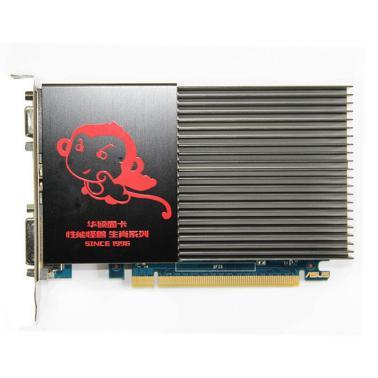 华硕(ASUS)GT710-SL-2GD3游戏显卡 独立电脑显卡PCI-E