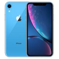 蘋果iPhone XR 智能手機 公開版三網4G 蘋果六核A12處理器 ROM/256GB RAM/3GB 前置700萬像素 后置1200萬像素 6.1英寸 雙卡 藍色 2942mA/h